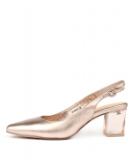 HINNIS ROSE GOLD LEATHER