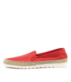 VEDA RED LEATHER