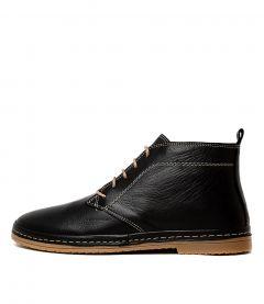 Corell Black Leather