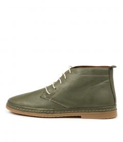 Corell Olive Leather