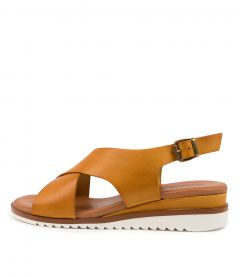 Lily Yellow Leather