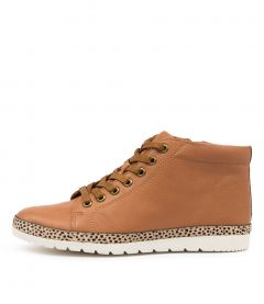 Alyse Df Dk Tan Sand Speckle Leather Pony