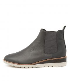 Blynx Charcoal Leather