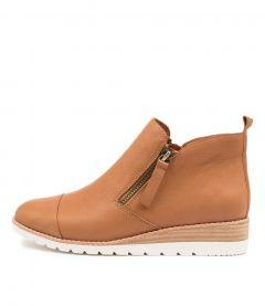 Bycra Dk Tan Leather
