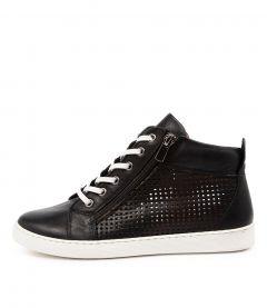 Millent Df Black Leather