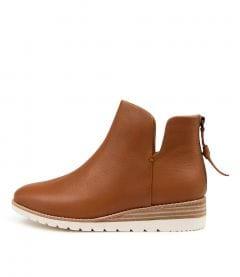 Bunite Dk Tan Leather
