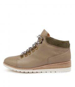 Bellow Khaki Leather-sde