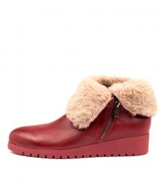 NOLAN RED RED SOLE LEATHER