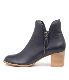 Shiannely Navy Leather