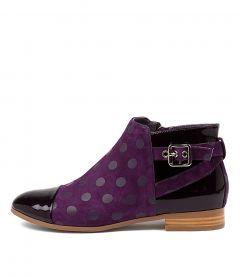 Jesie Purple-purple Dot