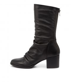 Mizzly Dj Black Black Heel Leather