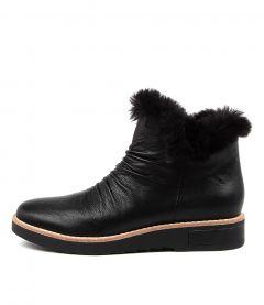 Rollinz Black Leather-fur
