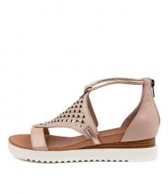 Alfronzes Dj Nude Rose Gold Leather