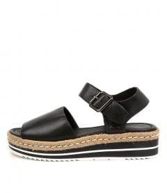 Amillent Black Leather
