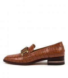 Fenna Cognac Croc