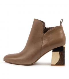 Yafa Warm Taupe Leather