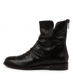 Yannis Black Leather