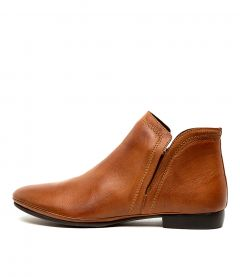 NIDE W BRANDY LEATHER
