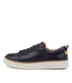 Morocco Navy Leather