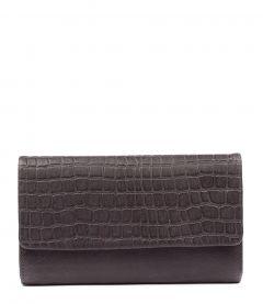 Midi Charcoal Leather