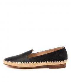 Virdo Mo Black Natural Leather Weave