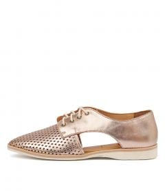 SIDECUT PUNCH ROSE GOLD LEATHER