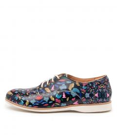 DERBY PRINT SHAPE LEATHER