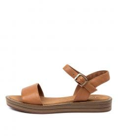FEISTY TO DK TAN LEATHER