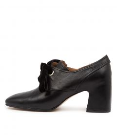 Farish Black Leather