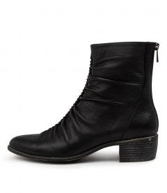 Julio Black Leather