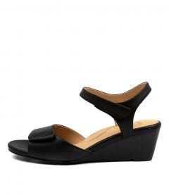 Keiko W Black Leather