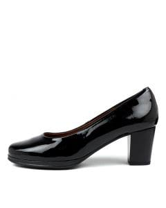 DARRAH BLACK PATENT LEATHER