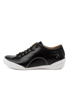 SOLOMON BLACK LEATHER