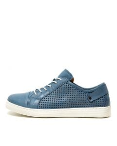MALLORYS JEANS (BLUE) LEATHER