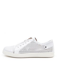 MALLORYS BLANCO (WHITE) LEATHER