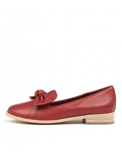 ALANISA RED LEATHER