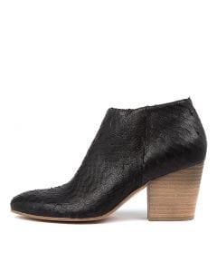 INELL BLACK CUT LEATHER