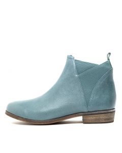 SHELVA TEAL LEATHER