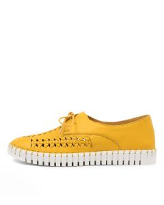HUBERT DJ BUTTERCUP WHITE SOLE LEATHER