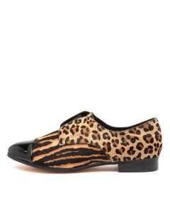 JOSIE DJ BLACK TAN ZEBRA MULTI