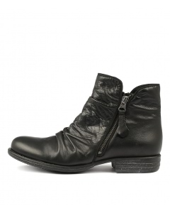 WILLET W BLACK LEATHER