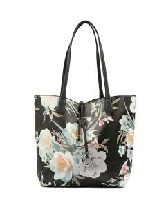 CANDICE GG BLACK FLORAL SMOOTH