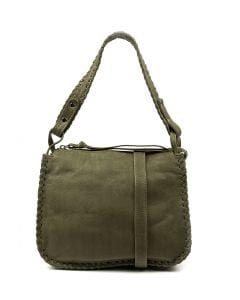 NORA GG OLIVE LEATHER