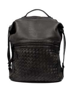 LENNOX GG BLACK VEGAN LEATHER