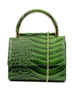 CALYPSO GG GREEN CROC SMOOTH