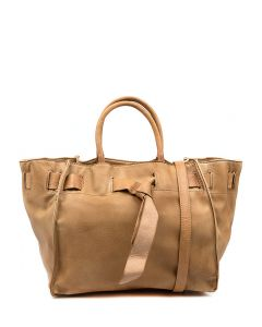 IVY CAMEL VEGAN LEATHER