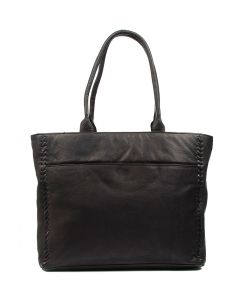 LENNOX TOTE BLACK LEATHER