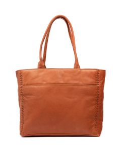 LENNOX TOTE TAN LEATHER