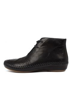RANOLF BLACK LEATHER