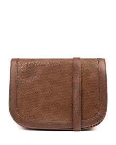 QUEM BAG IL MOCHA EMBOSSED SMOOTH